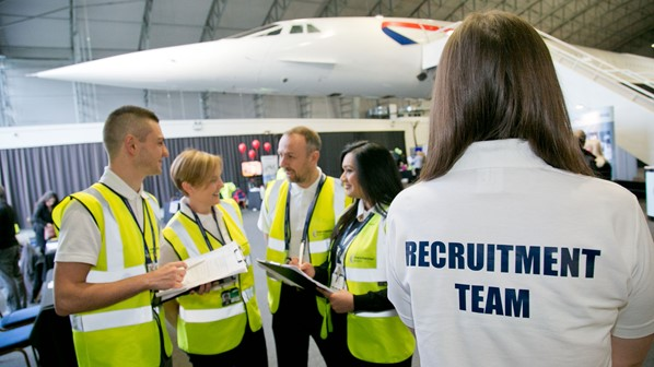 Recruitment team with concorde.jpg